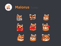 Red Panda Emojis