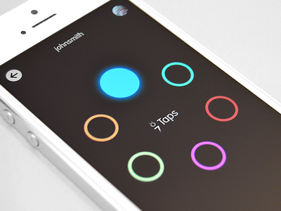 Circles iOS Game for iPhone and iPad circles game memory ipad iphone ios appstore available