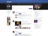 Facebook redesign by jonaska d3bsy7s