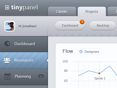 Mobile admin dashboard - iPad - UI/UX/iOS dashboard admin ui chart ipad