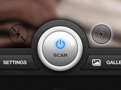 Quickscan button - iOS/iPhone ios iphone retina button scanner