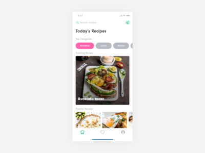 Avocado Recipe App