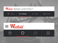 Westfield Responsive Menu