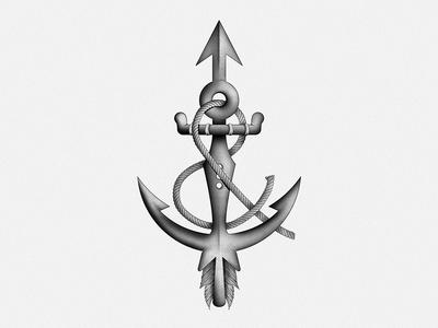 Arrow & Anchor