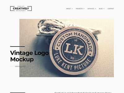 Creatively creative portfolio wordpress web design website web