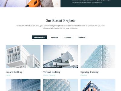 Multidot blue flat wordpress webdesign web design website web