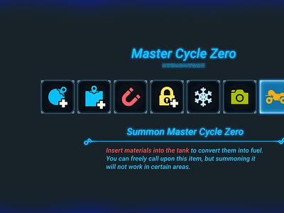 Sneak Preview - Zelda BOTW UI Kit - Rune Page zelda ui design system figma