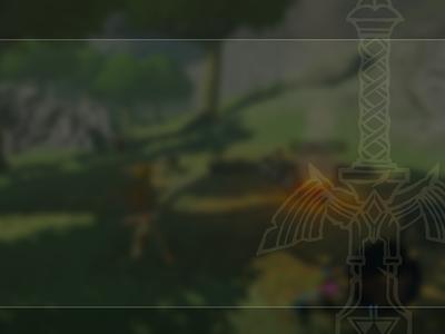 Sneak Preview - Zelda BOTW UI Kit - Quest Page vector illustration zelda ui figma design system