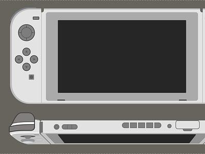Gamepad - Switch illustration logo vector zelda figma design system