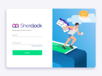 Sherclock Login - Your projects on time!