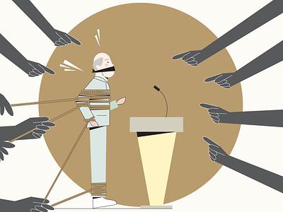 Fear of public speaking public speaking coach fear illustration design