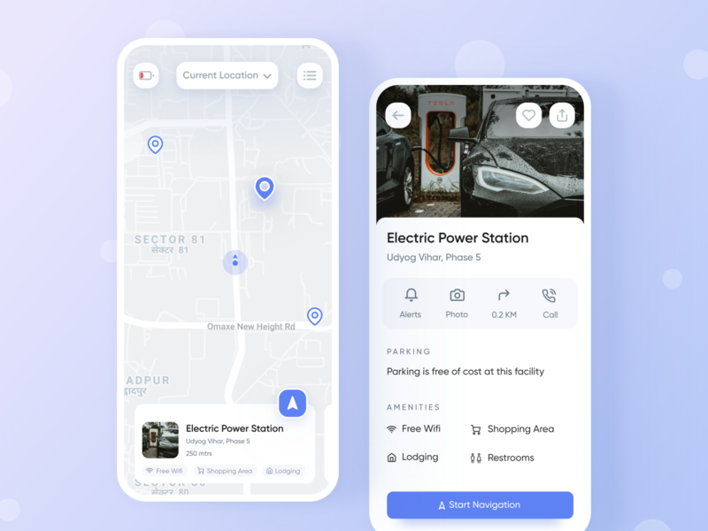 Electric Car Charging Hub Finder dribbble best shot dailyui shot minimal ui app interaction design ui ux ux inspiration design