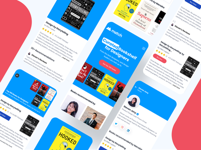 Cubode- Curated Books for Designers dailyui shot app minimal interaction design ui ux ui ux inspiration design