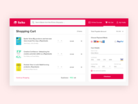 Saiko Book Store Checkout Daily UI Challenge #002
