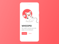 404 Error Page Daily UI Challenge #008