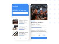 Fundraisr App Concept