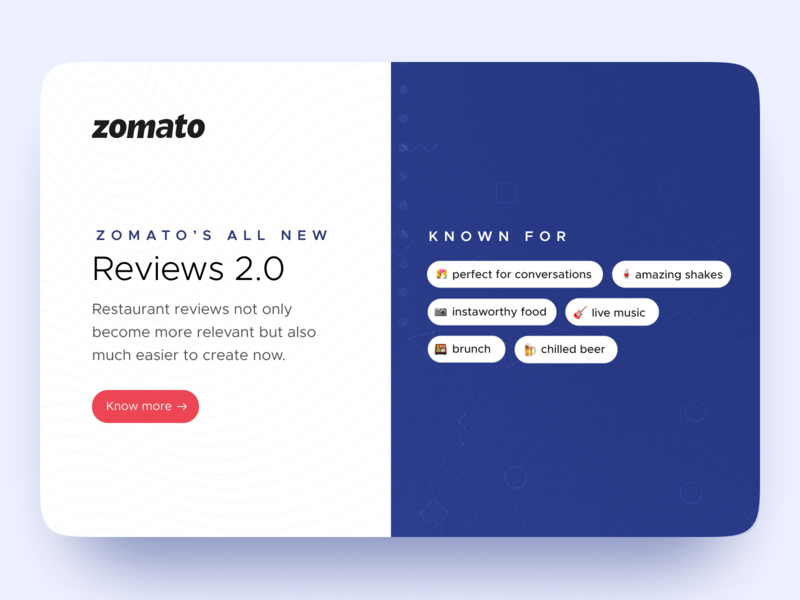 Reviews 2.0 – tags are a new content currency sushi mobile zomato branding ui ux ui ux minimal shot design system inspiration interaction design app design