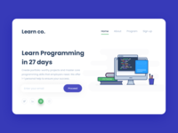 Lean co Landing Page