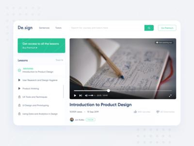 Design Courses Platform