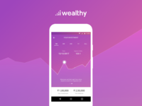 Investment Graph for Wealthy Dashboard
