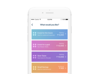 Wealthy iOS App Home Page WIP