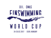 XII. CMAS Finswimming World Cup Logo