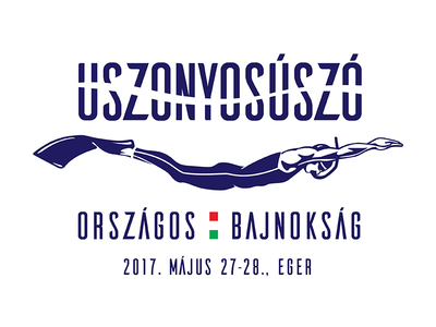 Finswimming Championship Logo