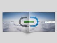 Connectax logo horizontal brochure