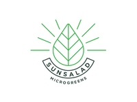 Sunsalad Microgreens Logo