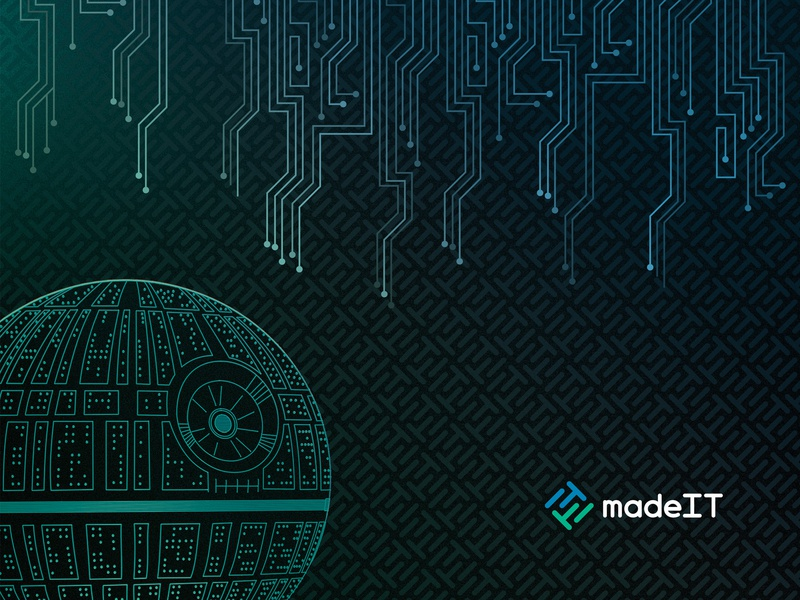 Mousepad Design for madeIT mousepad pattern it circuit board circuits mouse pad death star
