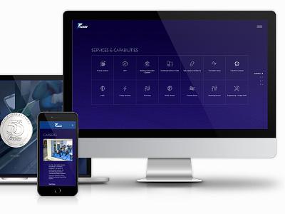 website design-Therma Inc. 2017