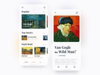 Art & Design / Mobile App 🌞 Light Mode