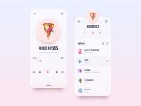 Music Player / Mobile App 🌞 Light Mode