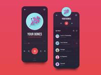 Music Player / Mobile App 🌚 Dark Mode