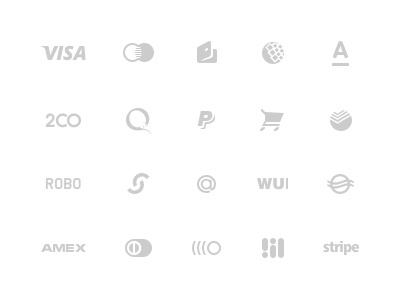 Payments glyph icons psd payment glyphs free icon