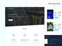 Book Store Landing Page