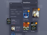 #Exploration - Book Store App