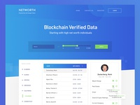 Networth Redesign - Homepage