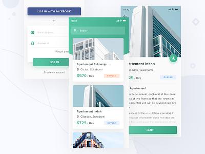 #Exploration - Apartement Rental App