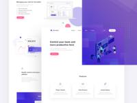 Soccer Landing Page Design
