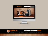 Kopi Bali   Web Design