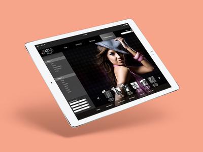 Carla Boutique | Website Design graphic mockup ui responsive interface digital online web design webdesign website