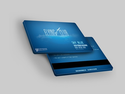 Flying Club | Membership Card profile company brand branding namecard graphic design club print card membership flying