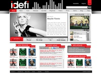 IDEFI | Website Design