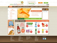 Your Daily Grocery | Web Design