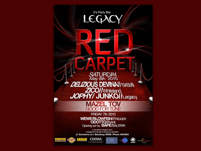 Legacy Bar | Flyer Design photoshop brochure bar layout graphic print design flyer