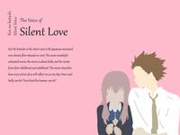 A Silent Voice - Appreciation Design