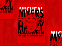 Happy Halloween - Micheal Myers - Poster