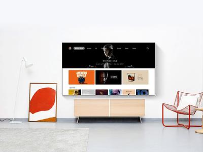 TV ux ui os inteaction animation animal vector design app