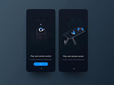App start boot page Illustrator icon ios illustration animal inteaction app ux ui vector design